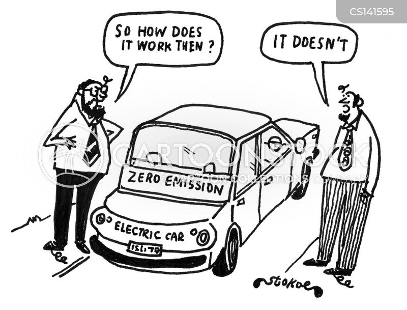 Zero Emissions Cartoons And Comics Funny Pictures From Cartoonstock