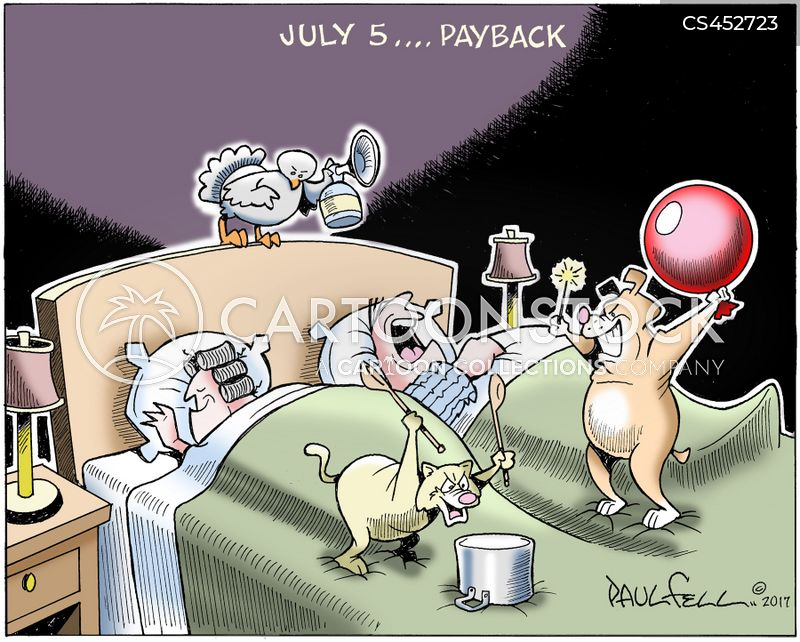 july 4 cartoon