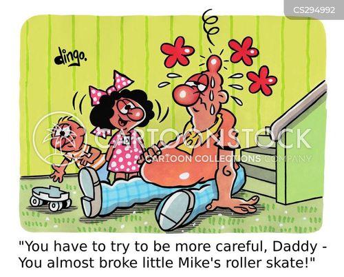 carefulness cartoon