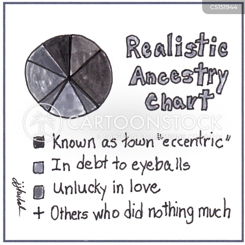 genealogists cartoon