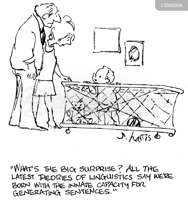 linguistic theory cartoon