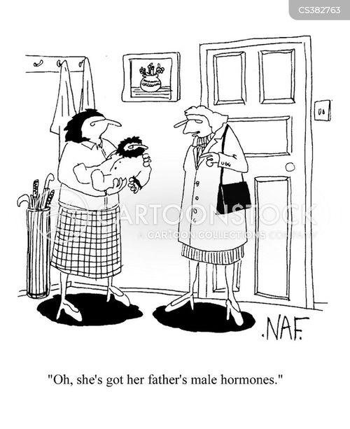 new born cartoon