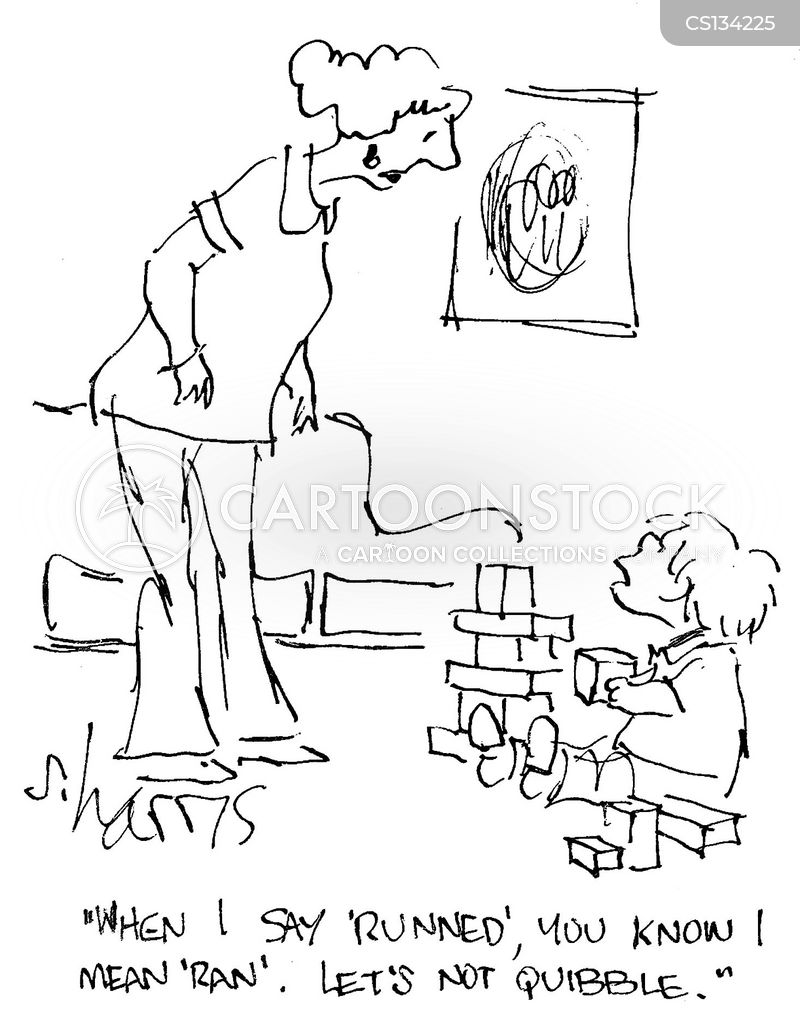 childhood development cartoon