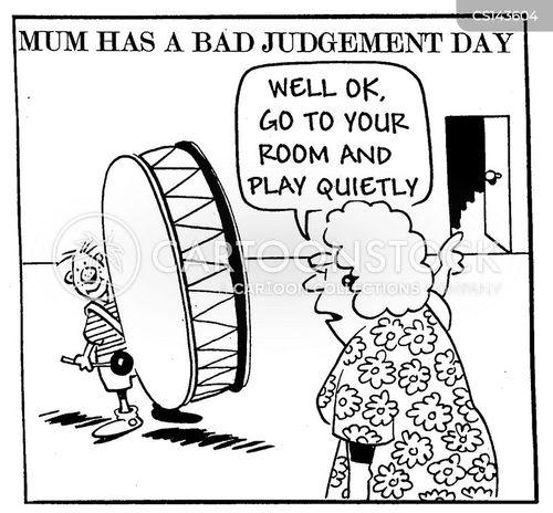bad judgement cartoon