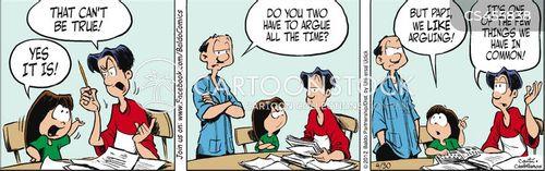 bonding activities cartoon