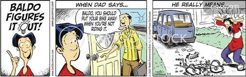 driveways cartoon