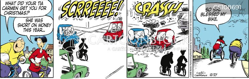 narrow escapes cartoon
