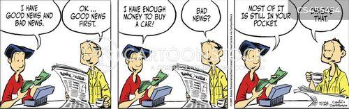 buy a car cartoon