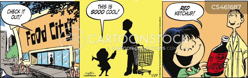 catsup cartoon