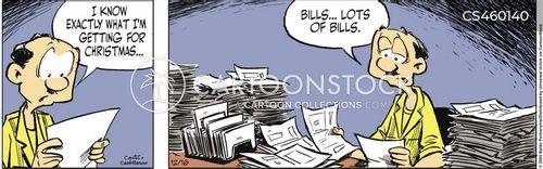 household budgets cartoon