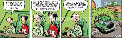 teenage drivers cartoon