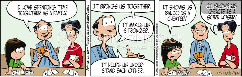 family bond cartoon