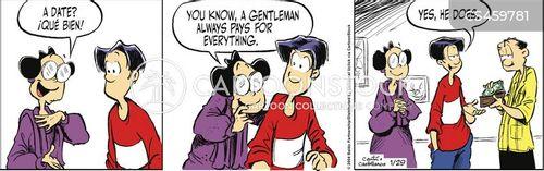 first girlfriend cartoon