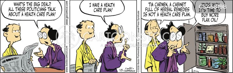 health care plans cartoon