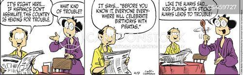 demographic shift cartoon