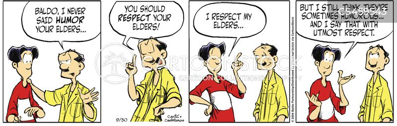 respecting your elders cartoon