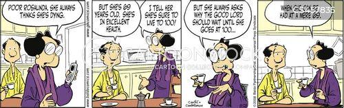 haggles cartoon