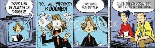 local news stories cartoon