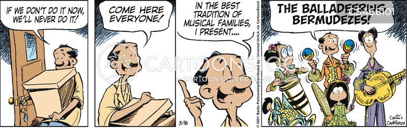 music group cartoon