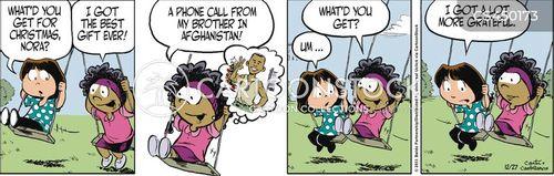 selflessness cartoon