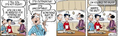 social changes cartoon