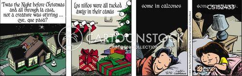 feliz navidad cartoon