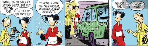 bumpersticker cartoon