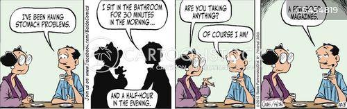 potty breaks cartoon