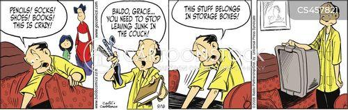 long-term storage cartoon