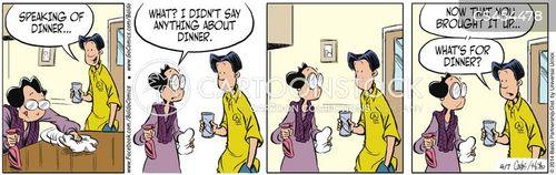 suppertime cartoon
