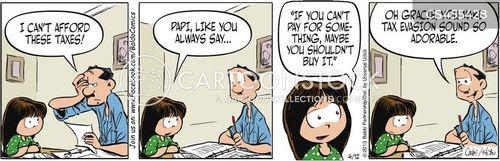 overtaxation cartoon