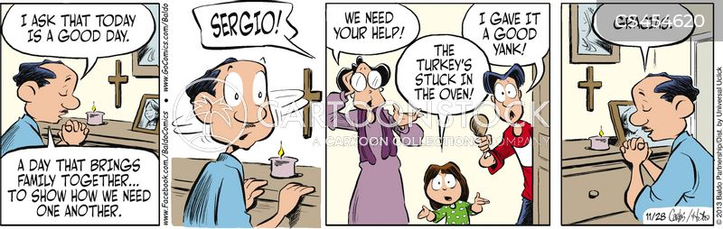 family togetherness cartoon