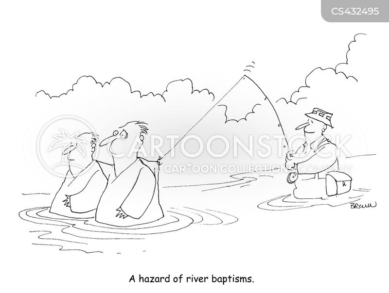 baptizes cartoon