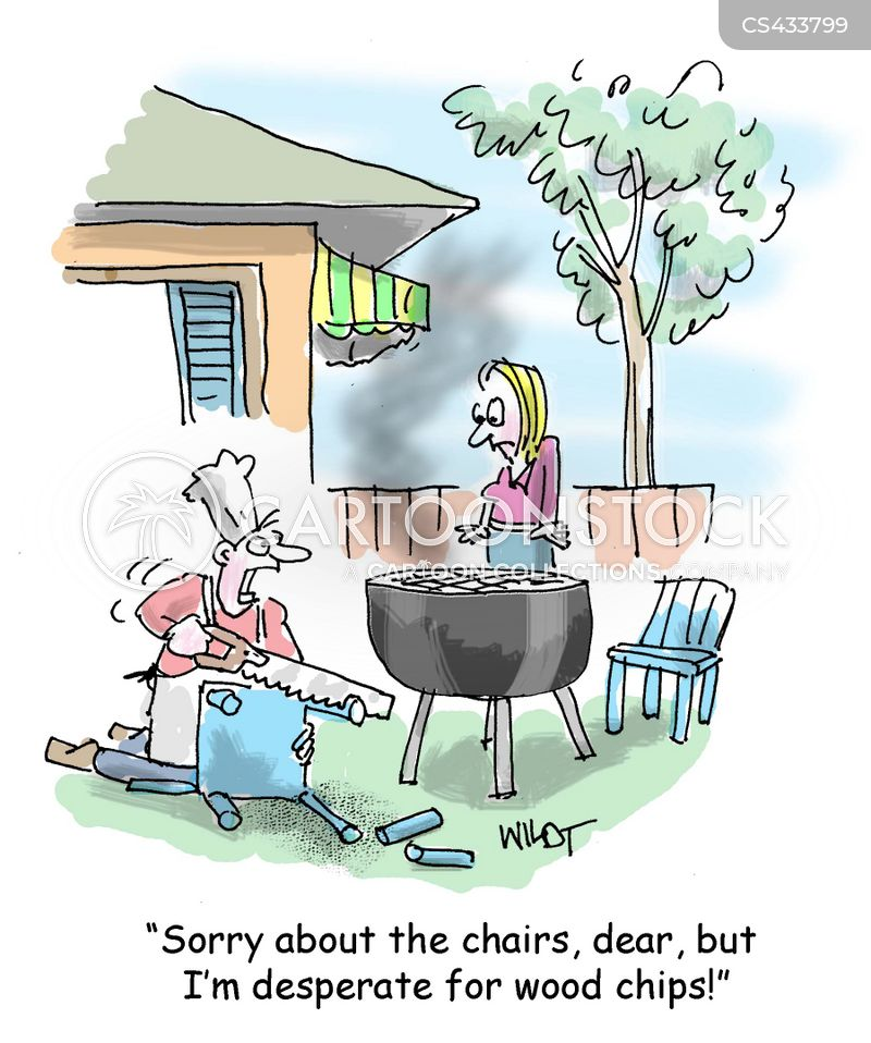 cook outs cartoon