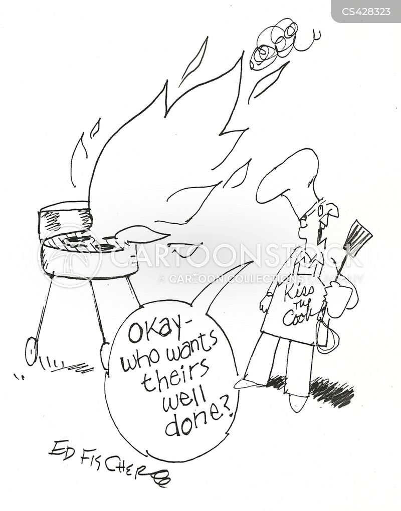 cook-outs cartoon
