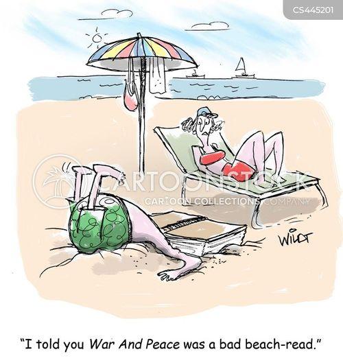 summer read cartoon