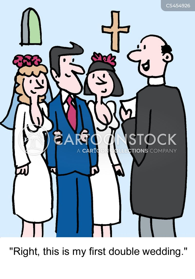 polygamists cartoon