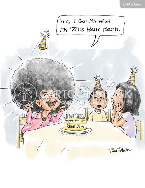 afros cartoon