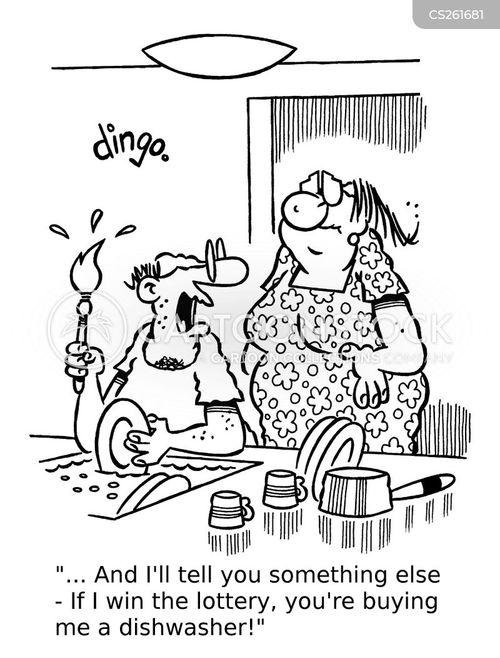 house-husband cartoon