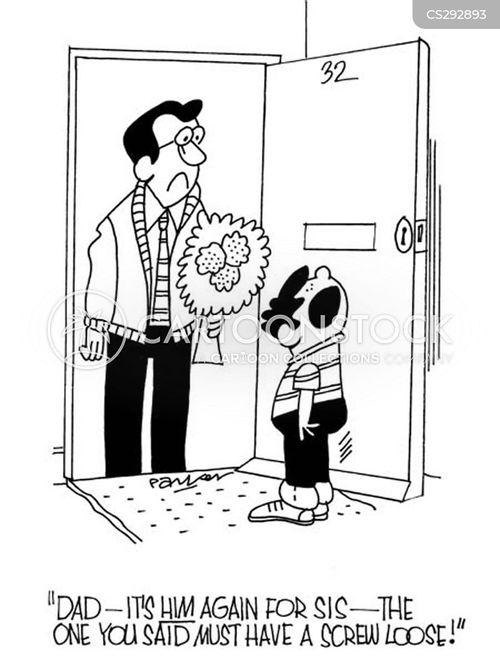 cheeky boy cartoon