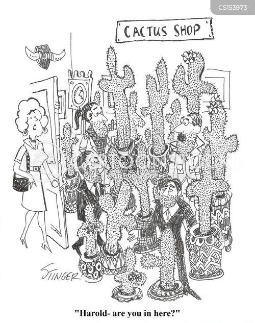 bristle cartoon