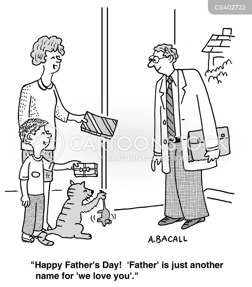 fathering sunday cartoon