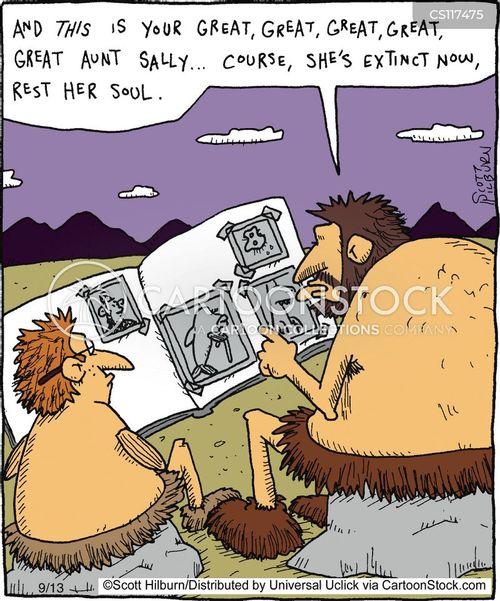 aunt cartoon