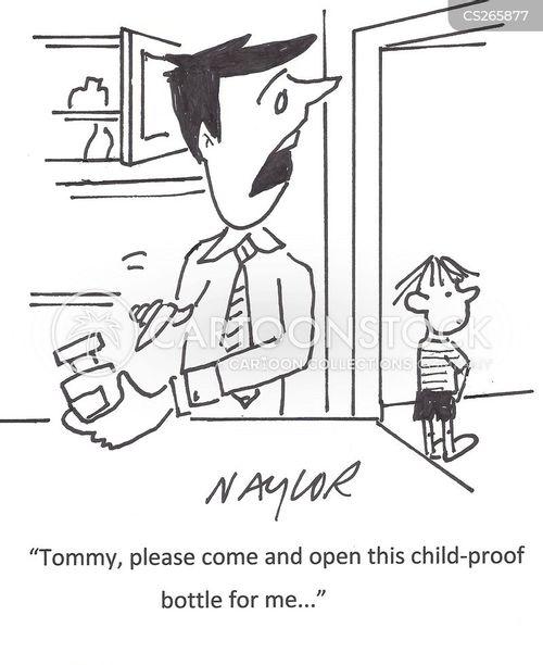 child-proof cartoon