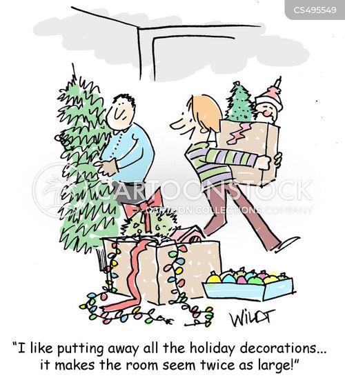 end of christmas cartoon