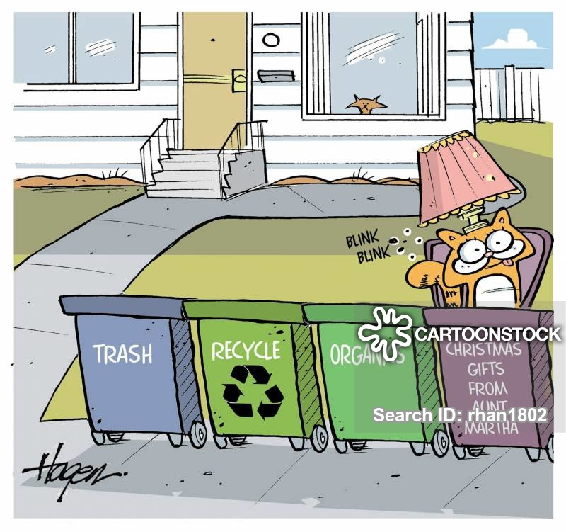 re-gifting cartoon