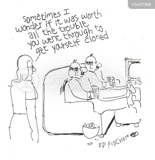 scientific advances cartoon