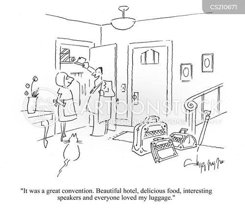 fashion victim cartoon