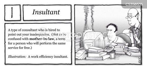 inadequacies cartoon