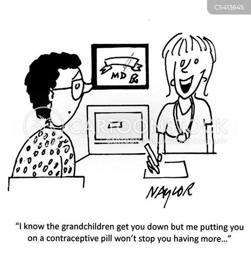 contraceptions cartoon